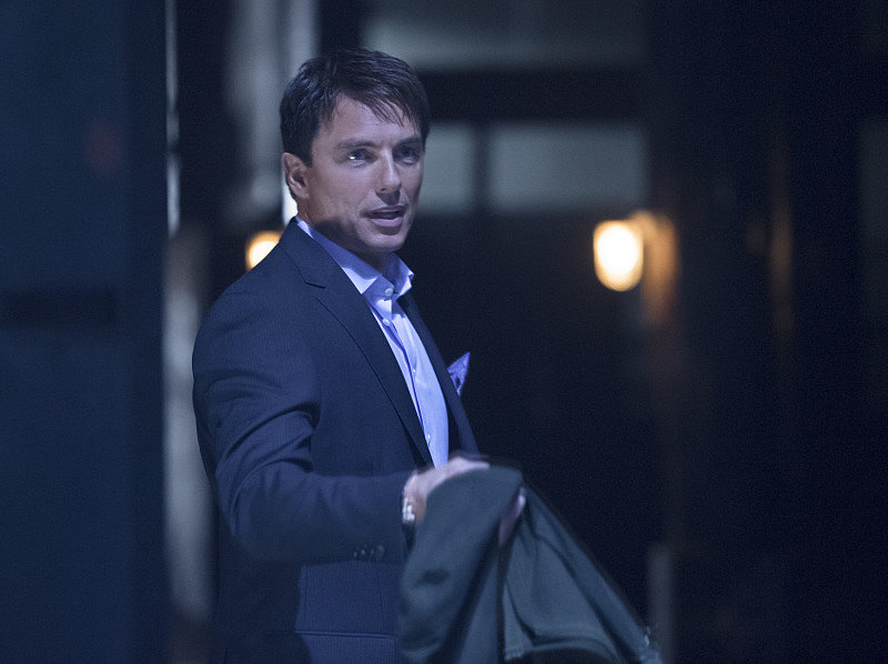 John Barrowman on Arrow.