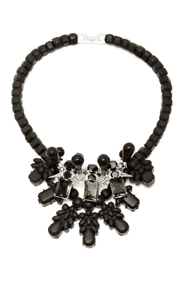 Ek Thongprasert Black and Silver Dagger Necklace ($875)