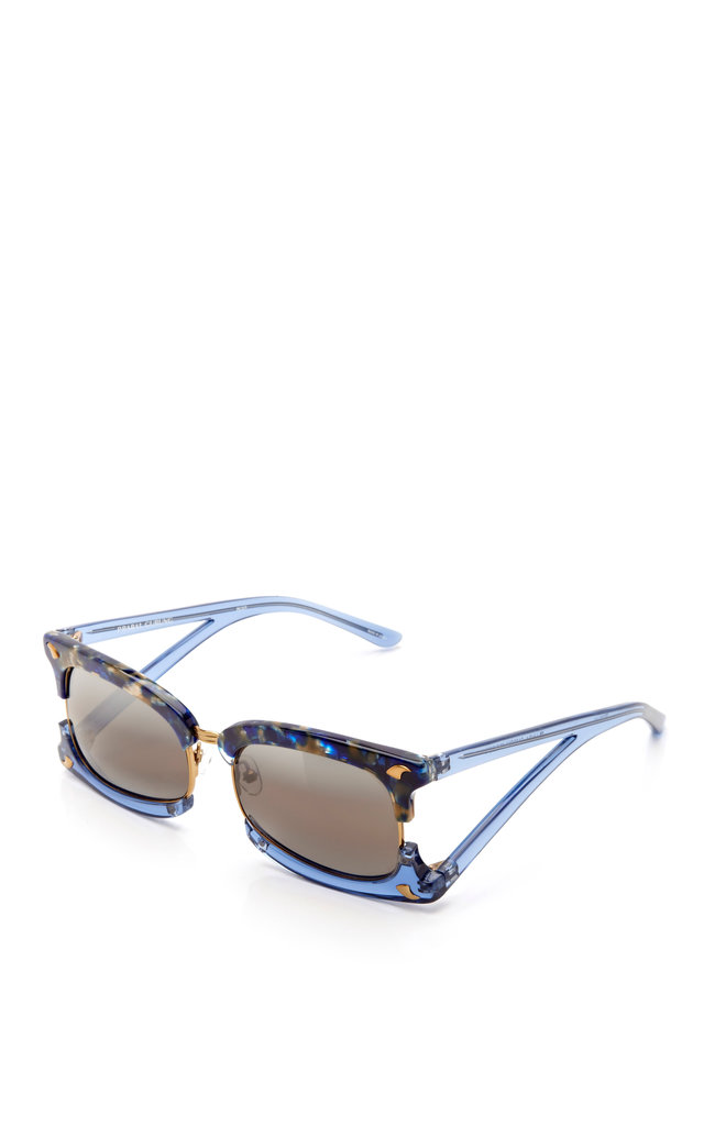 Prabal Gurung Rectangular Sunglasses With Claw Detail ($445)