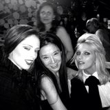 Coco Rocha partied with Vera Wang and Anja Rubik.  Source: Instagram user cocorocha