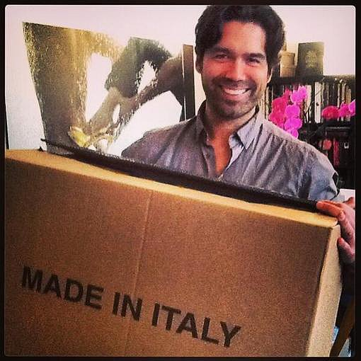 Brian Atwood snapped a pic of his delivery of Met Gala shoes — can't wait to see which stars wear them on the red carpet! Source: Instagram user brian_atwood