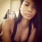 Chanel Iman shared a sunlit selfie. Source: Instagram user chaneliman