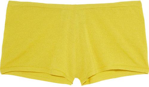 Madeleine Thompson Cashmere micro shorts