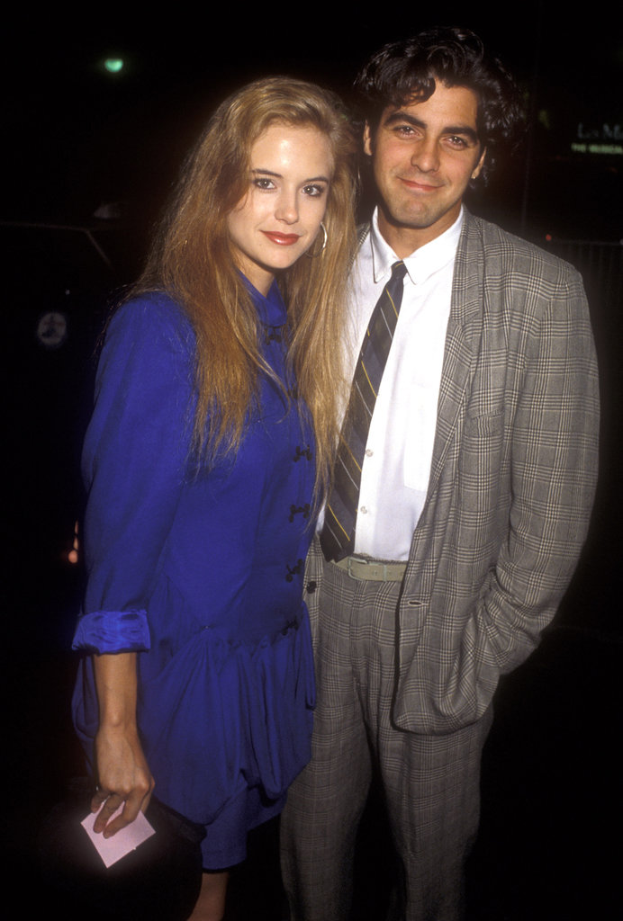 George Clooney and Kelly Preston lived together back before either of them were famous actors and she became Mrs. John Travolta.