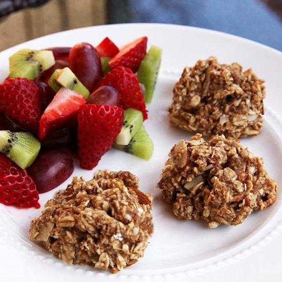 Recipe For Vegan Banana & Oat Breakfast Bites