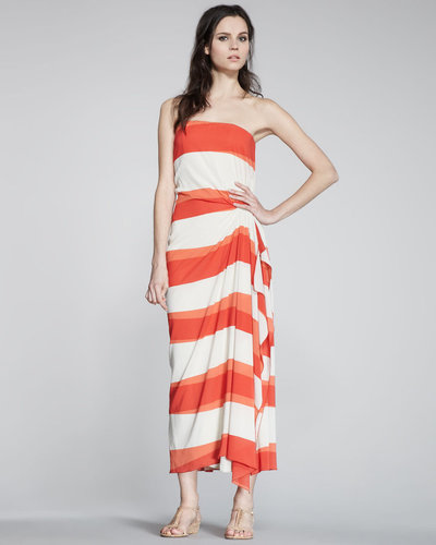 Alice + Olivia Evie Striped Maxi Dress