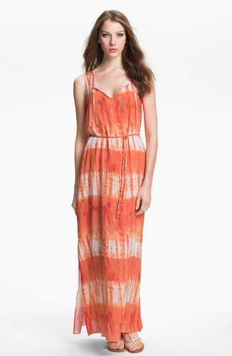 Two by Vince Camuto Tie Waist Maxi Dress