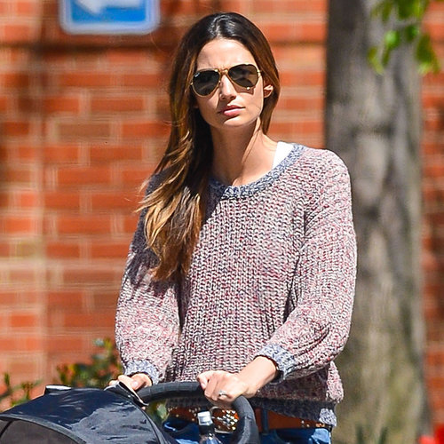 Lily Aldridge With Daughter Dixie in NYC | Photos