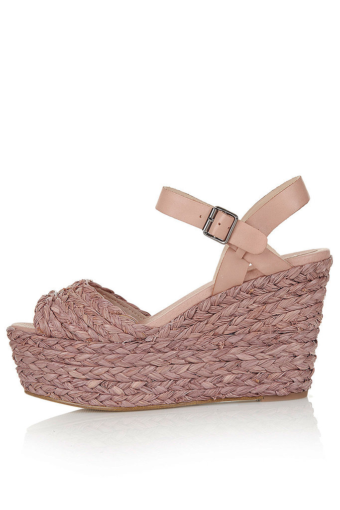 Topshop's Warner espadrilles ($130) feature a barely there blush hue that's ideal for pairing with bright prints and colors.