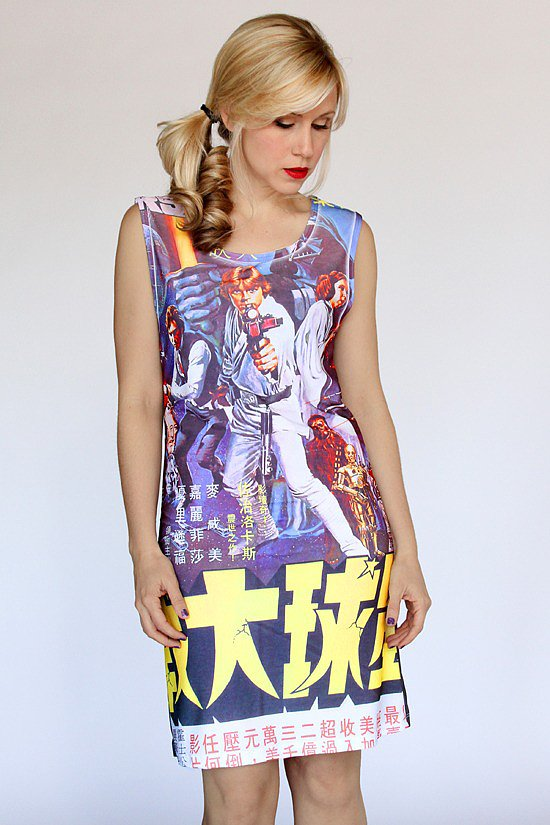 The Star Wars Poster Dress ($20, originally $27) is the most retro chic piece of the franchise we've seen.