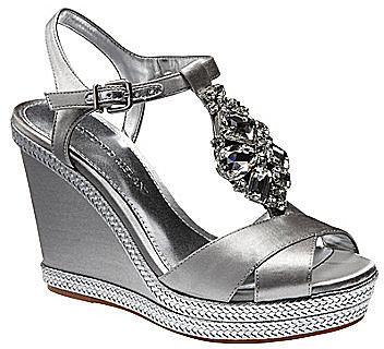 Antonio Melani Aubrey Metallic Sandals