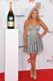 Miranda Lambert hit the red carpet on her way into Saturday's races.