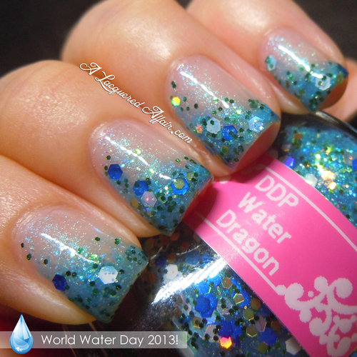 World Water Day Inspired Manicure
