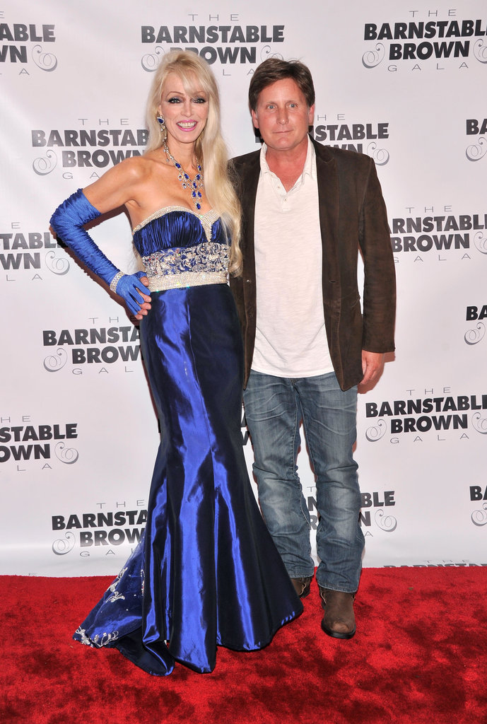 Emilio Estevez joined Tricia Barnstable Brown at the Barnstable Brown Gala on Friday.