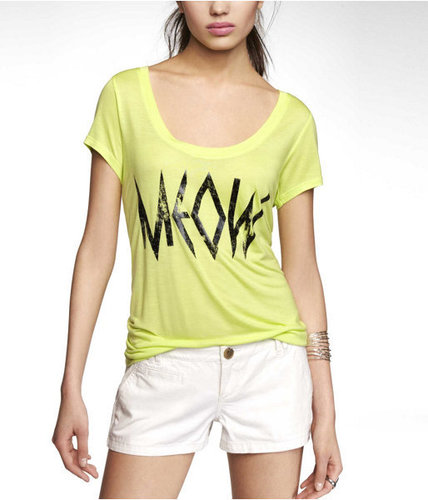 Relaxed Graphic Tee - Meow