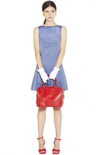 Harper Drape Waist Pleated Skirt Dress