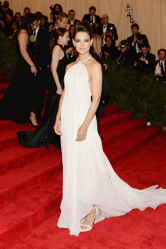 Katie Holmes at the Met Gala 2013.