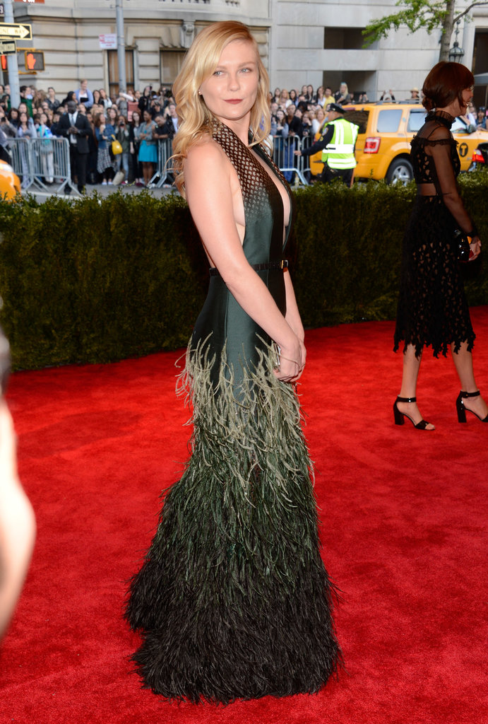 Kirsten Dunst at the 2013 Met Gala.