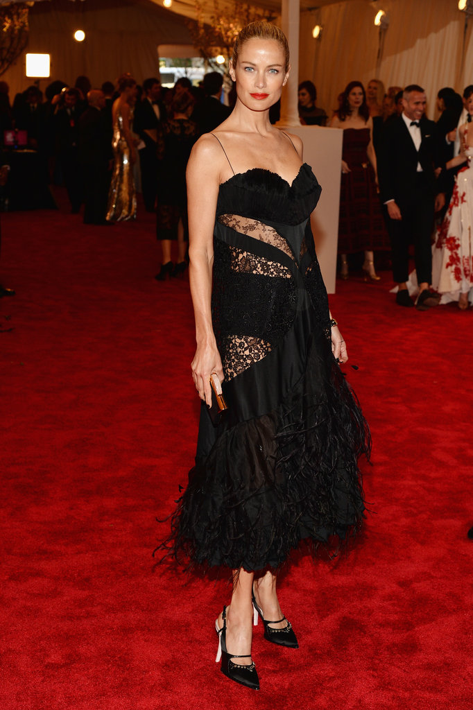 Carolyn Murphy at the 2013 Met Gala.