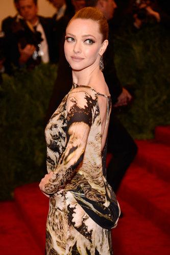 Amanda Seyfried at the Met Gala 2013.