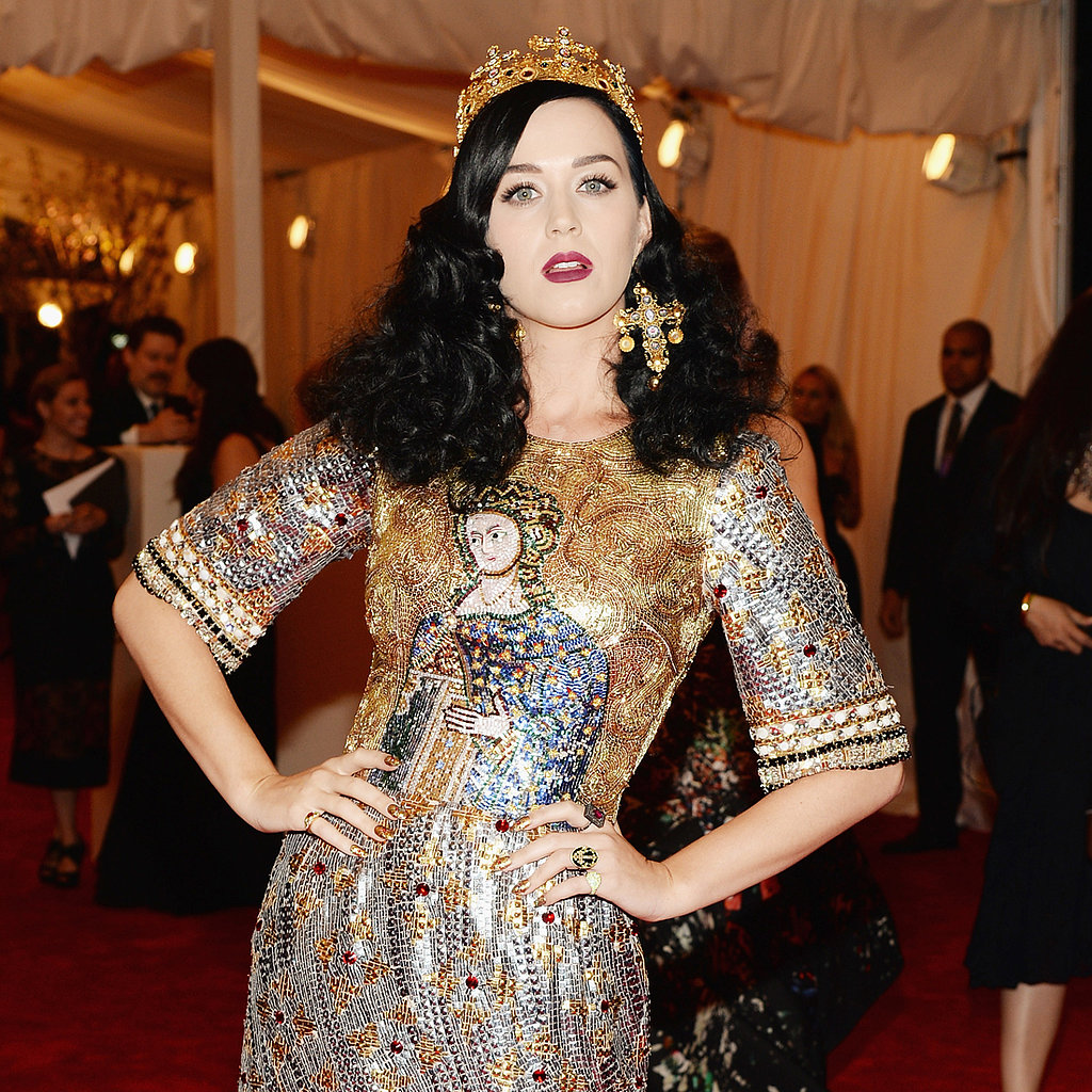 Katy Perry Hair at Met Gala 2013 | Red Carpet