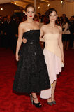 Jennifer Lawrence and Marion Cotillard at the 2013 Met Gala.