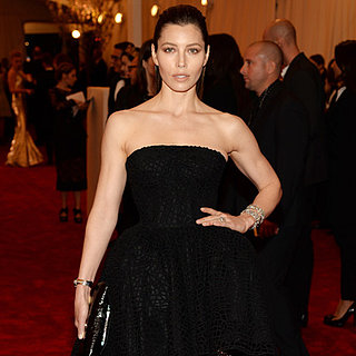 Jessica Biel at the Met Gala 2013