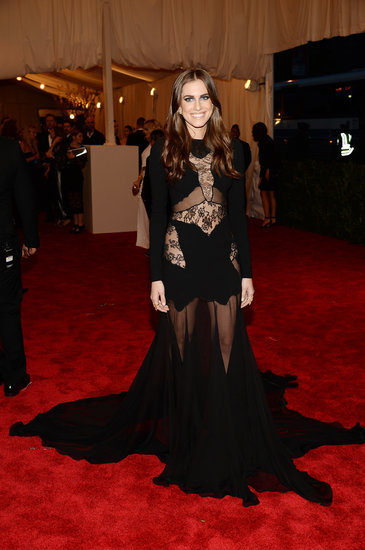 Allison Williams Goes Sheer at the Met Gala