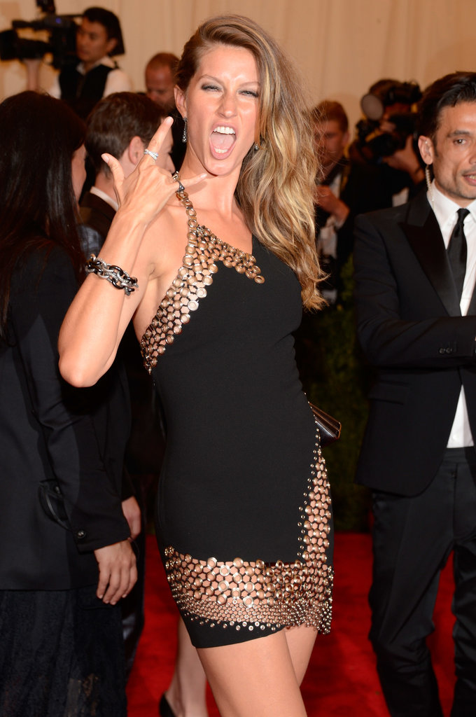 Gisele Bündchen at the 2013 Met Gala.