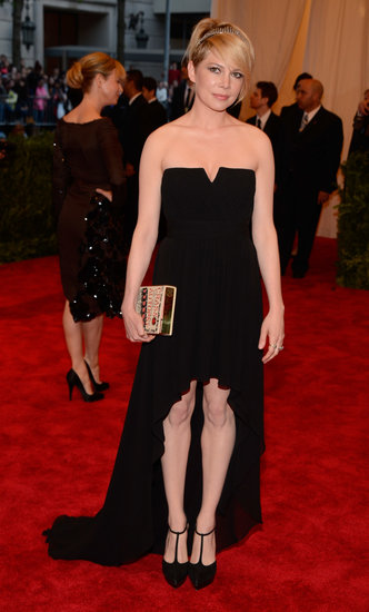 Michelle Williams at the Met Gala 2013.