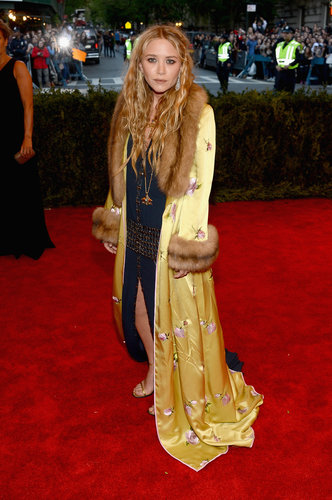 Mary-Kate Olsen at the Met Gala 2013.