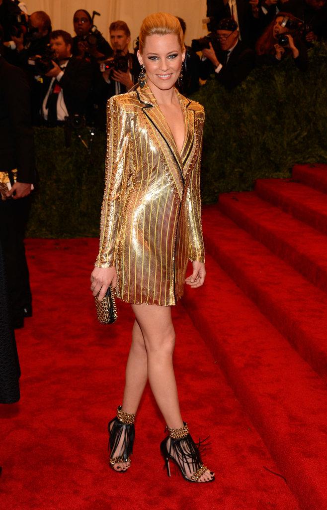Elizabeth Banks at the Met Gala 2013.