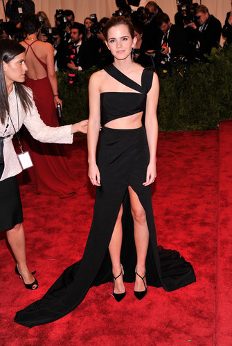 Emma Watson at the Met Gala 2013.