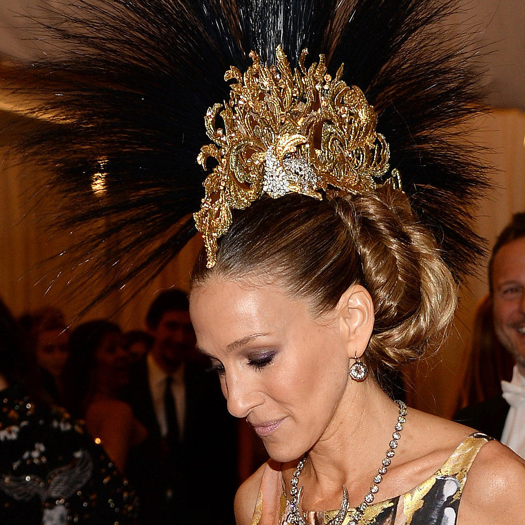 Sarah Jessica Parker Hair at Met Gala 2013 | Red Carpet