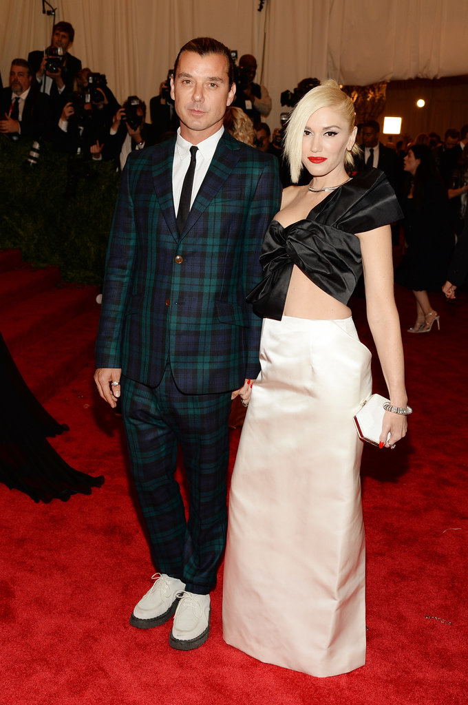 We're nominating Gwen Stefani and Gavin Rossdale as the couple most prepared to carry forth the punk spirit. The singer wore Maison Martin Margiela and Fred Leighton diamonds, while Gavin went with classic plaid.