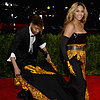 Beyonce Knowles Dress Train Guy Met Gala Pictures