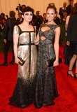 Ginnifer Goodwin and Jessica Alba bonded over their Tory Burch gowns.