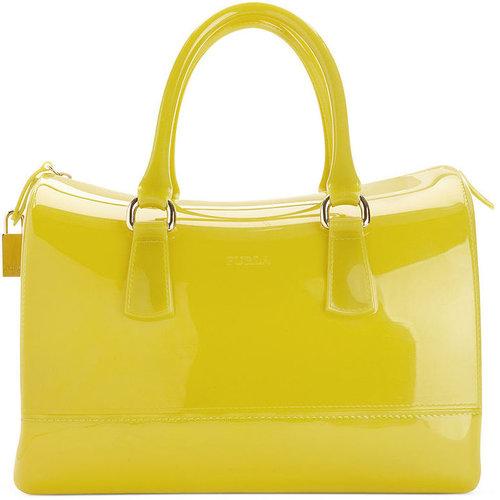 Furla Handbag, Candy Bauletto Satchel
