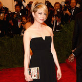 Michelle Williams on Met Gala 2013 Red Carpet