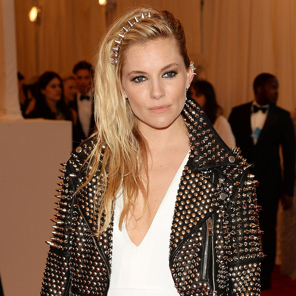 Sienna Miller on Met Gala 2013 Red Carpet