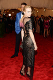 Diane Kruger at the Met Gala 2013.