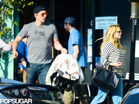 Kristen and Dax Bring Baby Lincoln Out For the First Time