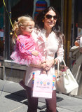 Bethenny Frankel celebrated daughter Bryn Hoppy's third birthday in NYC on Saturday.