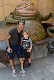Pete Wentz brought son Bronx to the LA screening of Star Wars: Return of the Jedi on Saturday.
