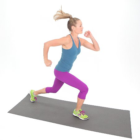 How to Do a Jumping Lunge