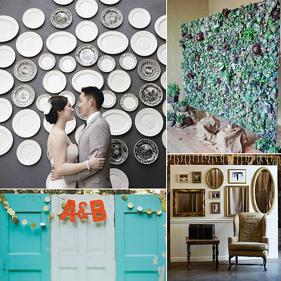 10 Fantastic Photo Backdrops For Weddings