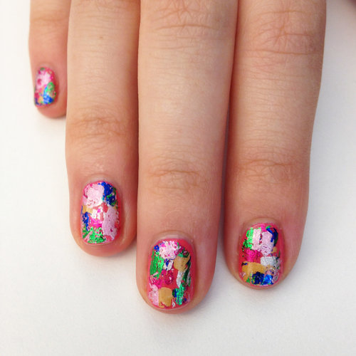 Ciate Very Colourfoil Manicure Set | How-To