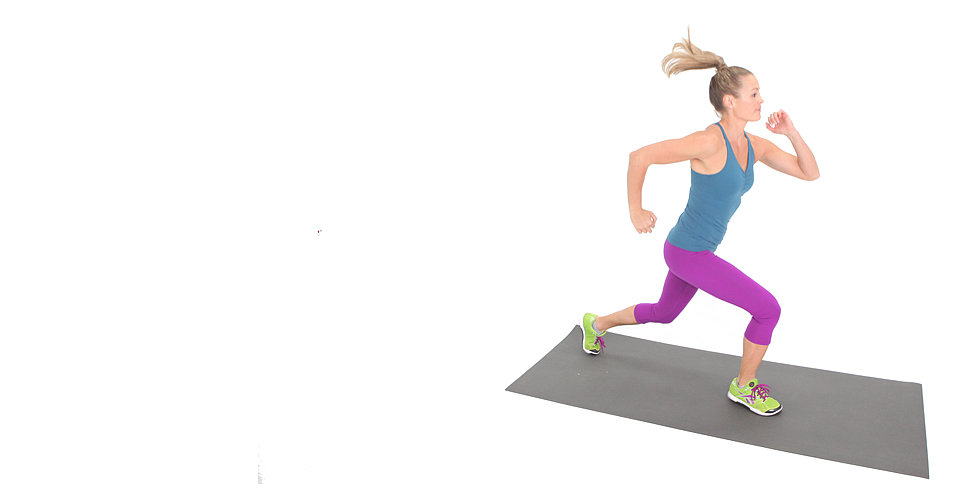 Quick! Jump Into Your Bikini With This Lunge