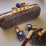 We're loving the sparkles and studs from Estée Lauder, pre-Met Gala. Source: Instagram user esteelauder
