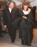 Donna Karan and Stephen Weiss in 1996